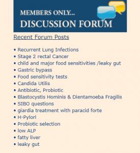 Functional Medicine Discussion Forum