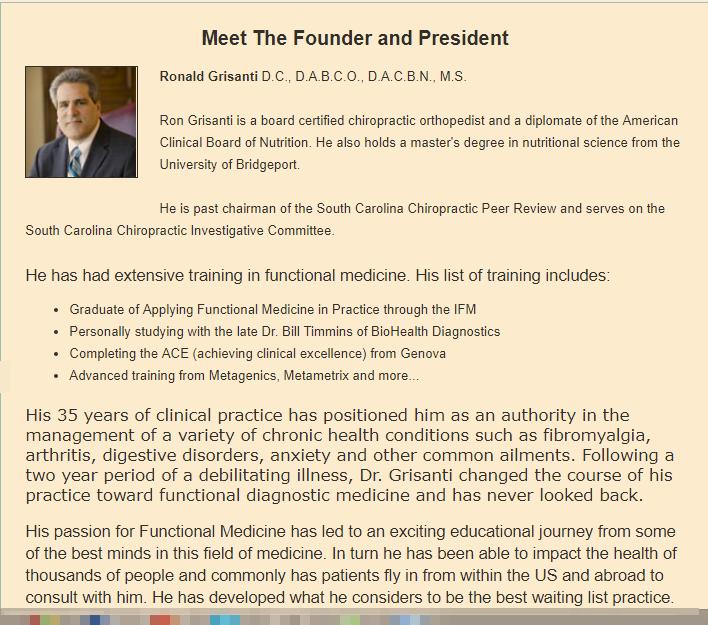Meet the founder Ron Grisanti