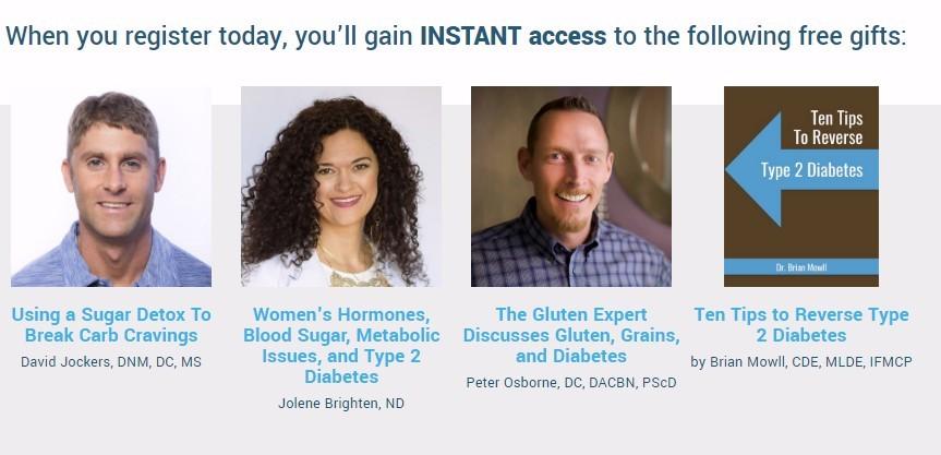 diabetes summit free gifts