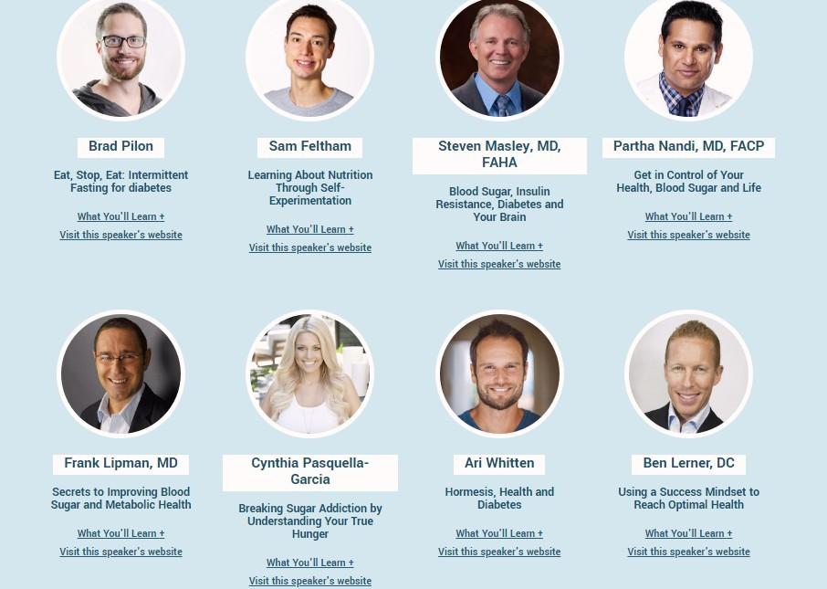 diabetes summit speakers 2
