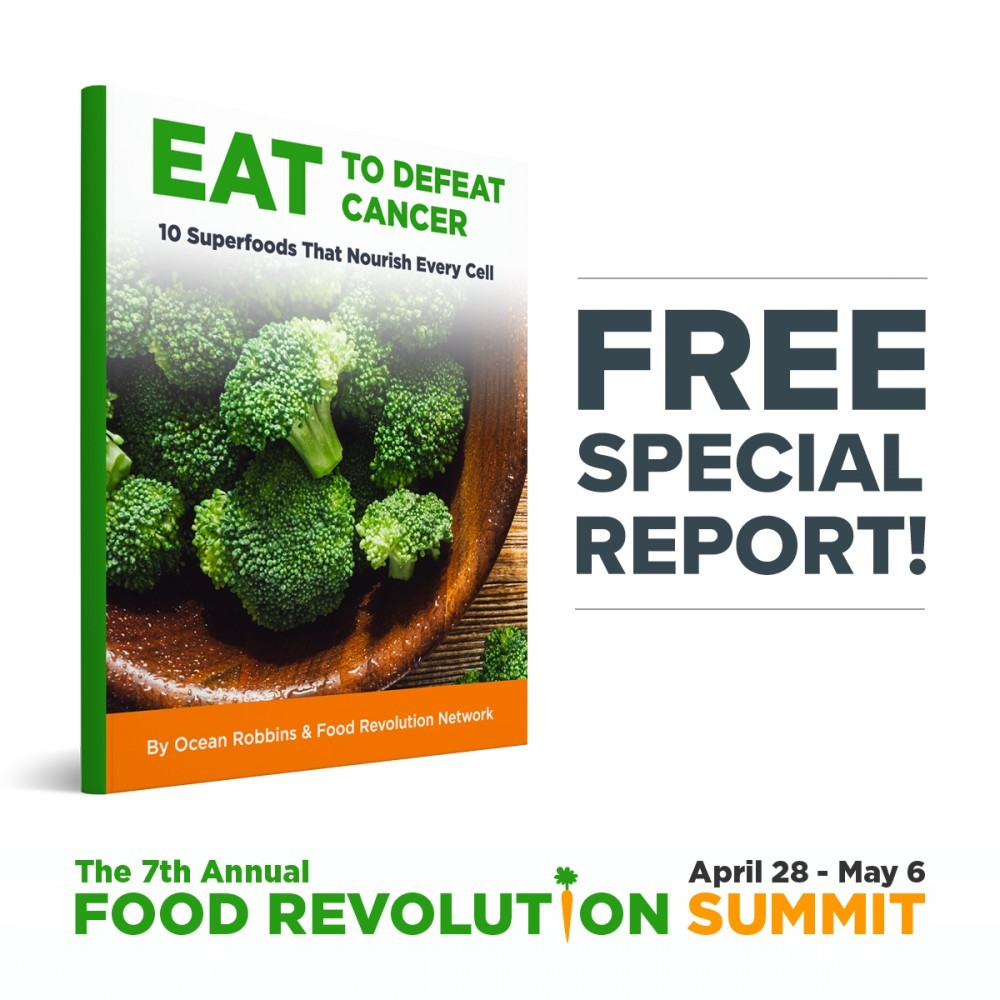 Food revolution and cancer