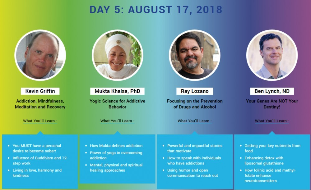 day 5 speakers addiction summit