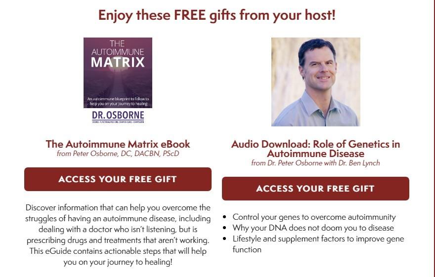 autoimmune matrix gift