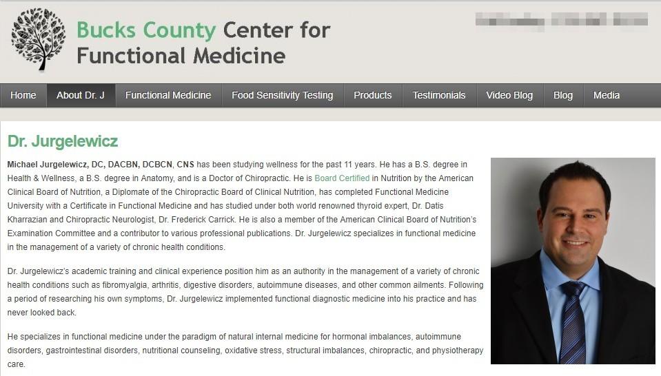 michael jurgelewicz functional medicine