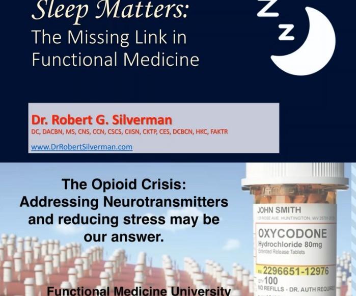 robert silverman sleep cindy howard opioids free lectures