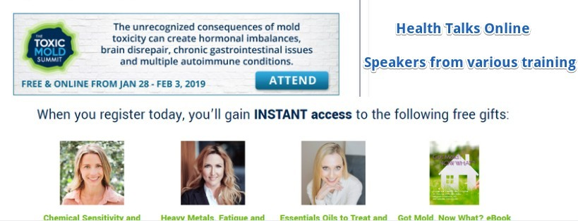 toxic mold banner and free gifts