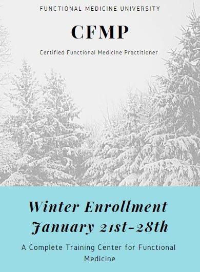 winter enrollment dates 2019 for functional medicine university