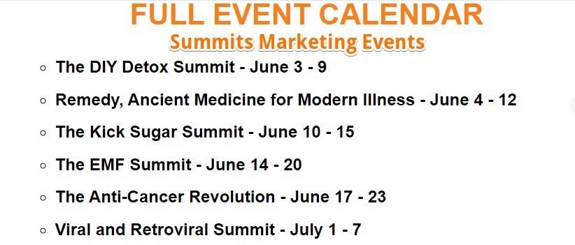 health summits june-july 2019