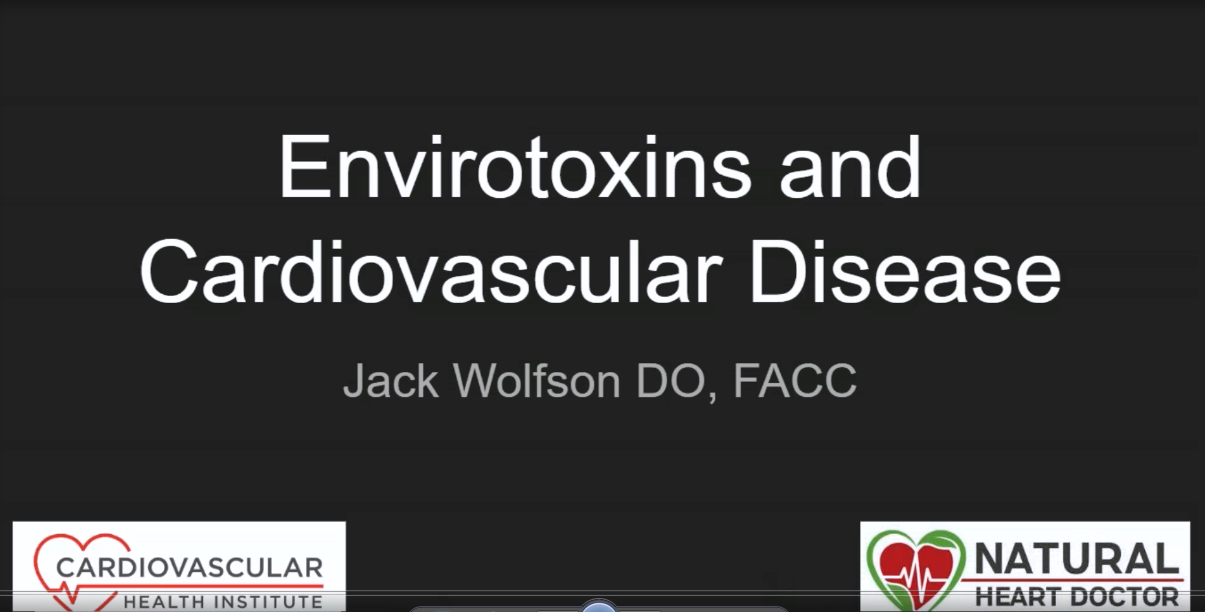 envirotoxins guest lecture by dr jack wolfson for FMU