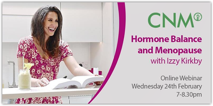Hormone Balance & Menopause with Izzy Kirby