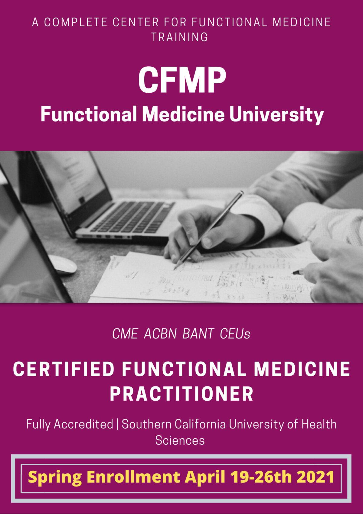 FMU Spring Enrollment | Certified Functional Medicine Practioner Online Training
