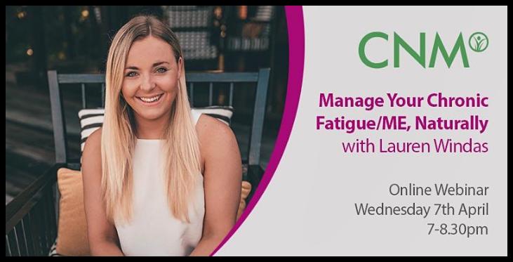 CNM Manage Chronic Fatigue Naturally