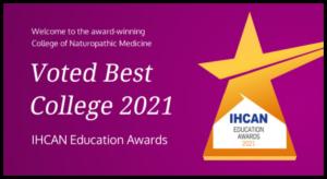 college of naturopathic medicine win best college 2021