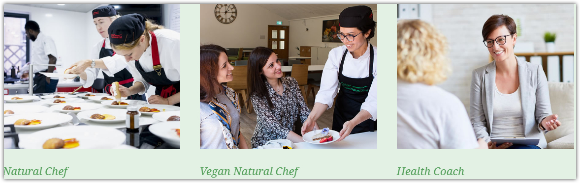 other cnm courses in health coach and natural chef and vegan natural chef