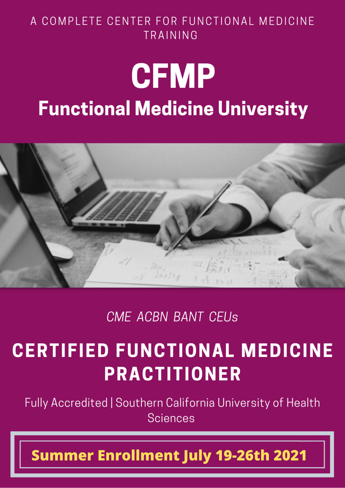 Summer Enrollment for the CFMP at FMU